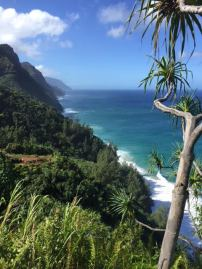 Alana, Sarah and I hiked the Napali Coast